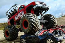 Monster Truck Family Ride for Four