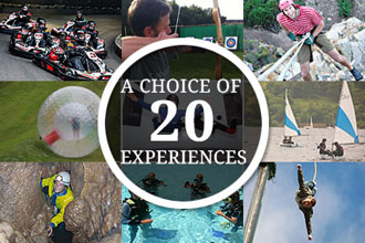 Ultimate Choice for Action & Adventure for Two - Gift Experience Voucher
