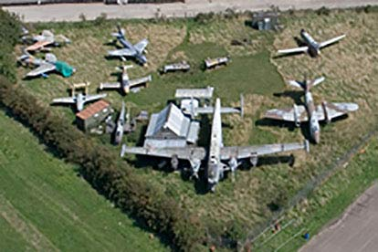 60 Minute Flight with Museum and Wartime Intelligence Debrief for Two