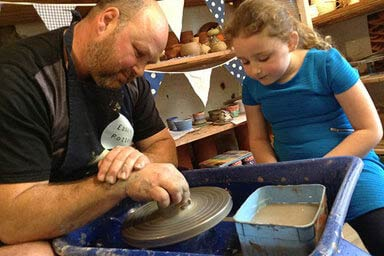Pottery Taster Session for a Family of Four Thumb