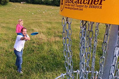 Abseiling and Frisbee Golf for Two