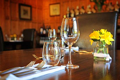 Three Course Meal with Bubbly for Two at The Grove, Norfolk