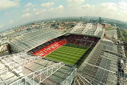 Old Trafford Helicopter Tour
