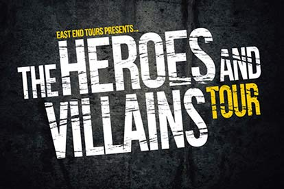 image of Heroes and Villains Tour for Four