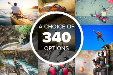 Click to view details and reviews for Mega Choice Action Adventure Experience Voucher.