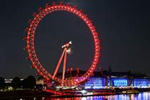 Coca- Cola London Eye Visit with a Two Course Lunch at Ping Pong for Two