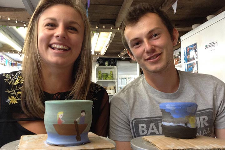 Pottery Taster for Two Adults