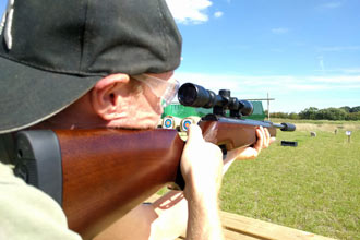 Air Rifle Shooting Experience with Exploding Targets for Two