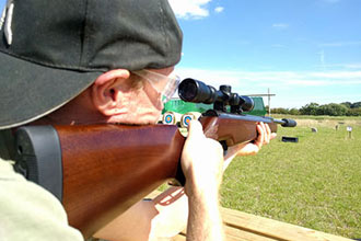 Air Rifle Shooting Experience with Exploding Targets