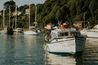 Traditional Rustic Lunch for Two Along The River Dart
