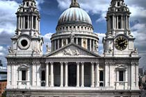 Visit to St Paul's Cathedral with Two Course Lunch at Ping Pong for Two