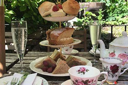 Celebration Afternoon Tea for Two at the Lion Rock Tea Room
