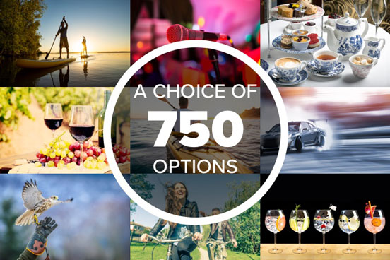 Ultimate Choice for Her - Gift Experience Voucher