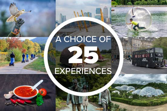 Unique Things to Do - Gift Experience Voucher