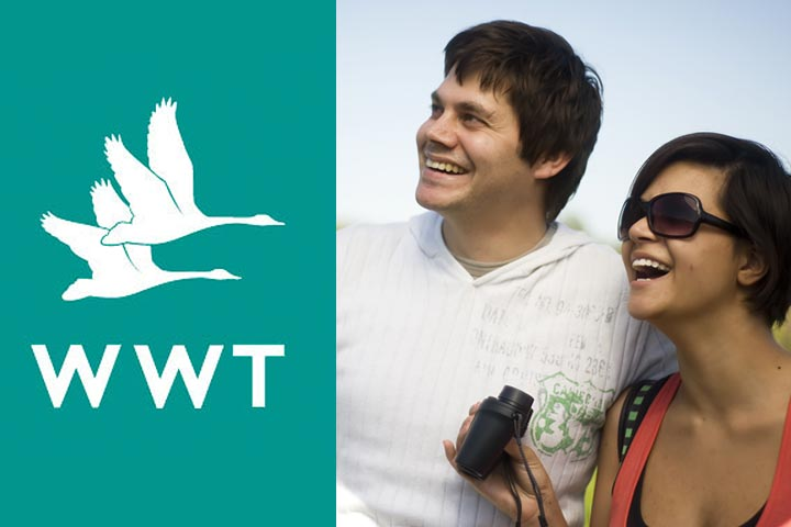 Wildfowl & Wetlands Trust Membership for Two