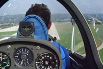 Gliding with a Winch Launch Thumb