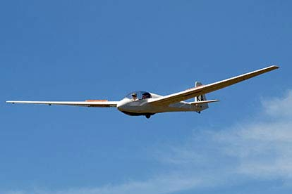 Gliding at Booker Gliding Club