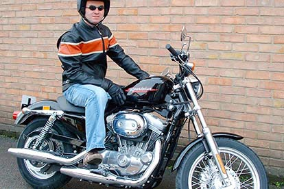 A Harley-Davidson tour of London