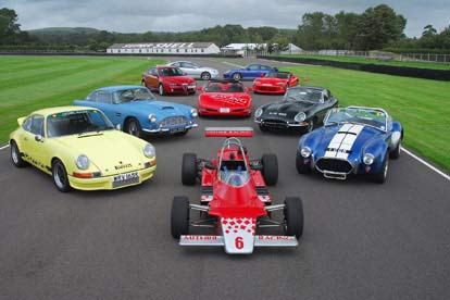 classics & single seater at goodwood