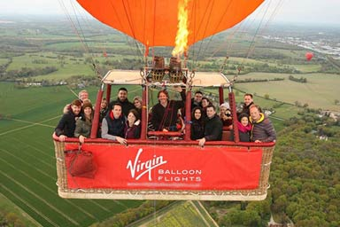 Champagne Balloon Flight Thumb