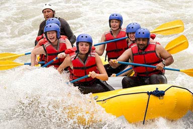 White Water Rafting for Two Thumb