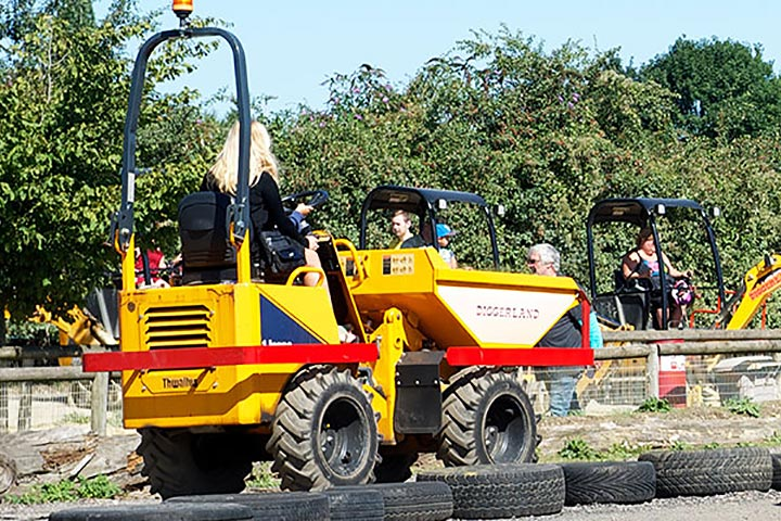 Diggerland Family Ticket for Four