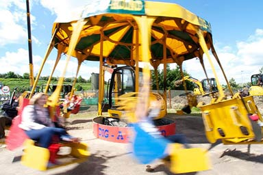 Diggerland Family Ticket for Four Thumb