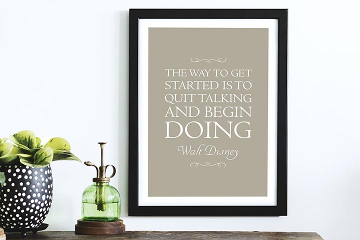Personalised My Favourite Quote A3 Framed Print