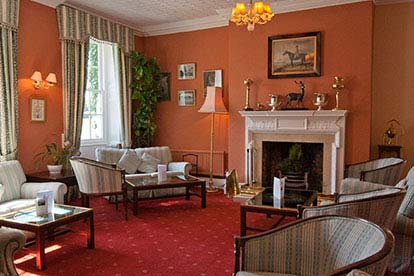 Country House Retreat for Two at Corse Lawn House Hotel, Gloucestershire