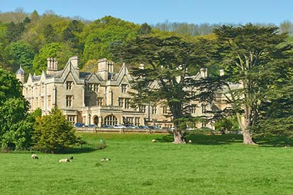 Country House Retreat for Two at Dumbleton Hall Hotel, Worcestershire