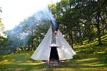 Two Night Tipi Stay for Two