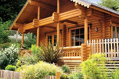 £50 Credit Towards 'Lodges with Hot Tubs' by Hoseasons