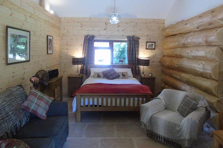 Two Night Log Cabin Break at Badger's Wood, Hoo Farm