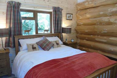 Two Night Log Cabin Break at Badger's Wood, Hoo Farm Thumb