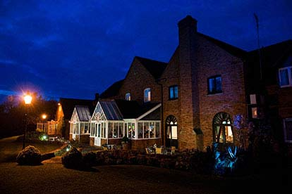 Country House Retreat for Two at The Moat House, Staffordshire
