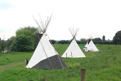 One Night Tipi Adventure for Two