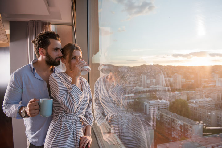 A Romantic Escape For Two & View From The Shard With Champagne