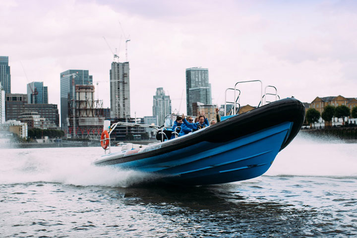 London Overnight Stay with Thames RIB Speedboat Experience