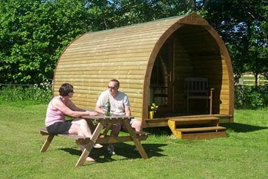Two Night Camping Pod Break at Yapham Holds