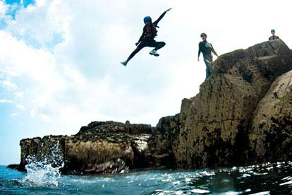 Coasteering for Kids