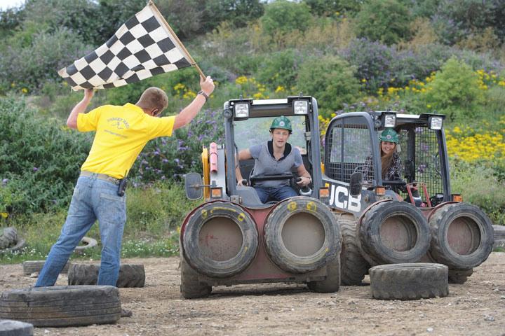 Dumper Racing Experience at Diggerland