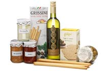 Click to view details and reviews for Wine Dip Hamper.