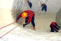 Ice Climbing for Two Thumb