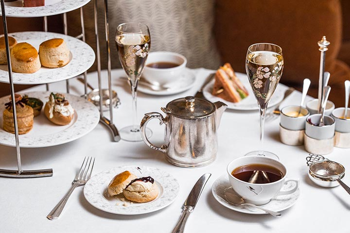 Champagne Afternoon Tea for Two at Sheraton Grand London Park Lane Hotel