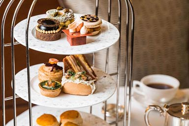 Champagne Afternoon Tea for Two at Sheraton Grand London Park Lane Hotel Thumb