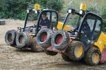 Dumper Racing Experience for Two at Diggerland