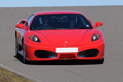 Ferrari Thrill at a Circuit