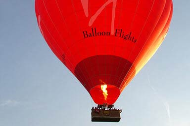 Sunrise Prosecco Balloon Flight