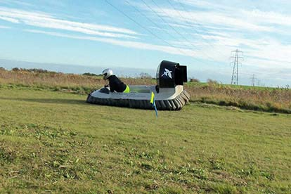 Hovercraft Driving Experience
