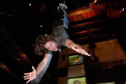 indoor bungee jump